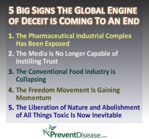 five signs